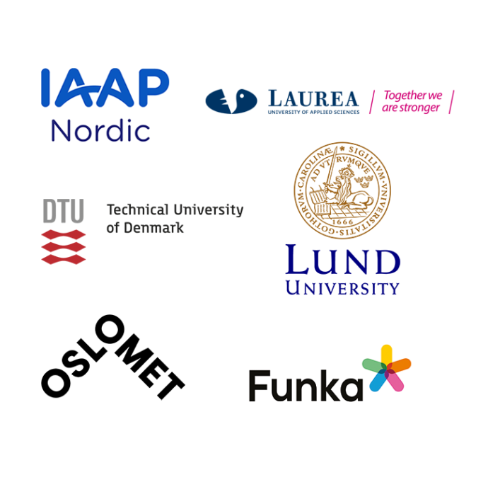 Project logos.