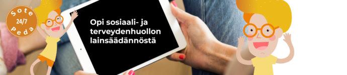 MOOC Johdatus suomalaiseen sosiaali- ja terveydenhuollon lainsäädäntöön.